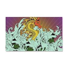 Sea Serpent Car Magnet 20 x 12