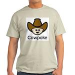 Cowpoke Ash Grey T-Shirt