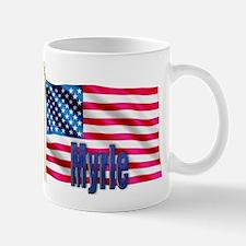 Myrle American Flag Gift Mug