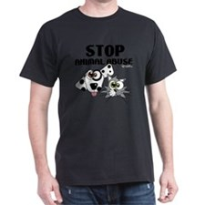 stop-animal-abuse-01 T-Shirt