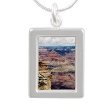 Grand Canyon Silver Portrait Necklace
