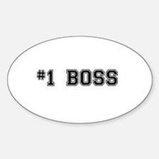 #1 Boss Decal