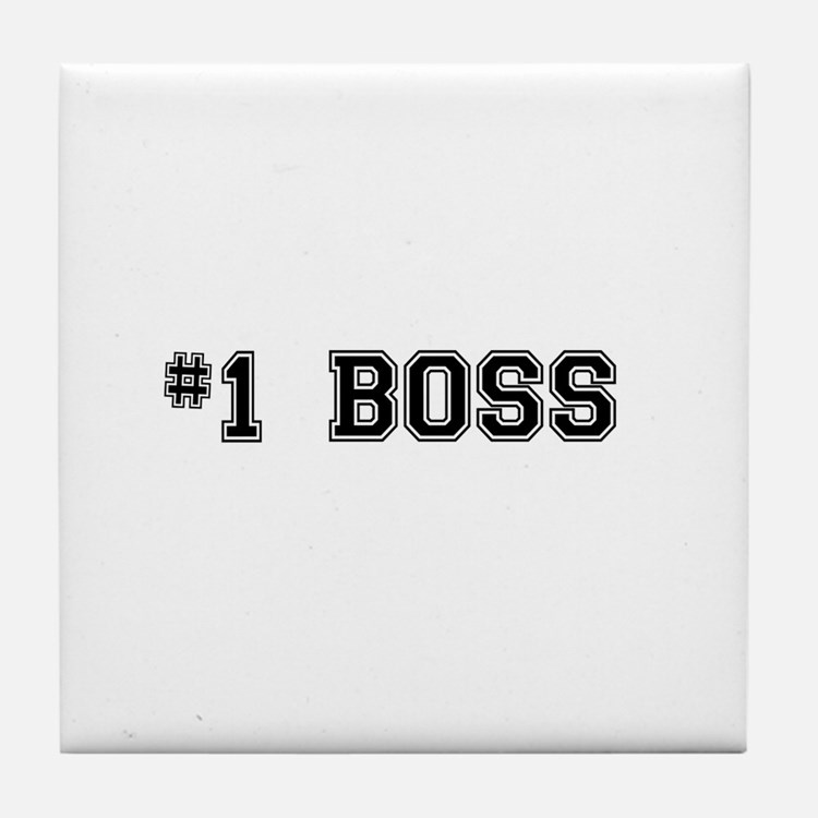 #1 Boss Tile Coaster