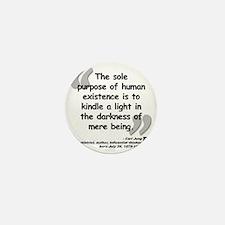 Jung Purpose Quote Mini Button