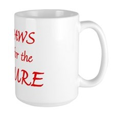 Red Paws Cure Ribbon Mug