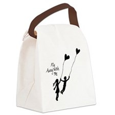 Fly away with me Canvas Lunch Bag