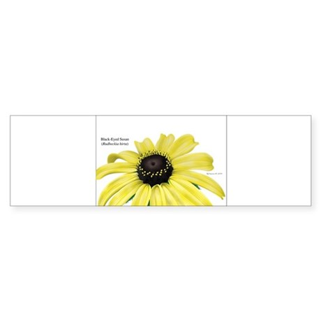 Black-eyed Susan Bumper Sticker