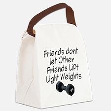 friends-dont-let-other-friends Canvas Lunch Bag