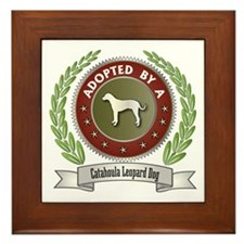 Catahoula Adopted Framed Tile