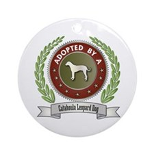 Catahoula Adopted Ornament (Round)