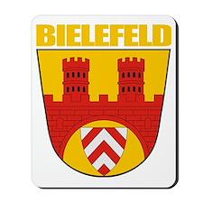 Bielefeld COA (gold) Mousepad
