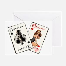 CARDS dark ground Greeting Card