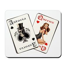 CARDS dark ground Mousepad