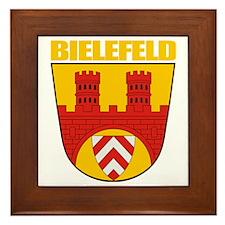 Bielefeld COA (gold) Framed Tile