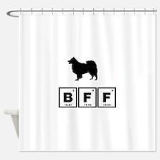 Finnish Lapphund Shower Curtain