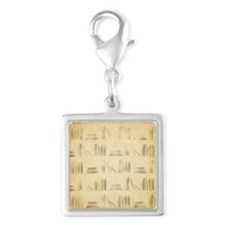 Books Pattern, Old Look Style. Charms