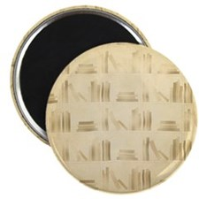 Books Pattern, Old Look Style. Magnets