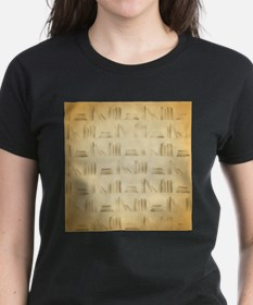 Books Pattern, Old Look Style. T-Shirt