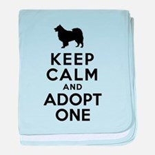 Finnish Lapphund baby blanket