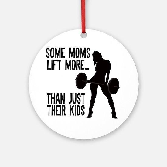 some-moms Round Ornament