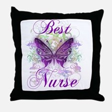 Best Nurse Throw Pillow