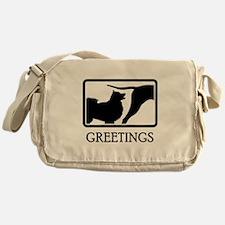 Finnish Lapphund Messenger Bag