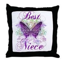 Best Niece Throw Pillow