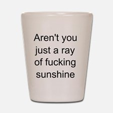 ray of sunshine 2 Shot Glass