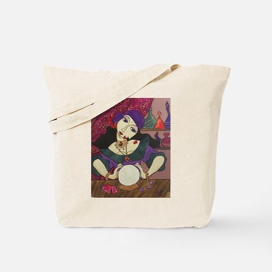 Crystal Ball Reader Tote Bag