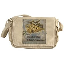 the 8th day of creation Messenger Bag
