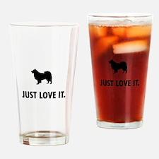 Finnish Lapphund Drinking Glass