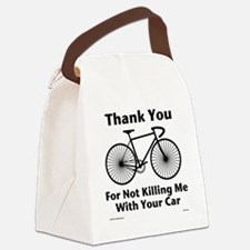 Thank You - Bicycle Canvas Lunch Bag