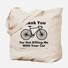 Thank You - Bicycle Tote Bag