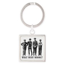 Weird Teenagers T-Shirt Square Keychain
