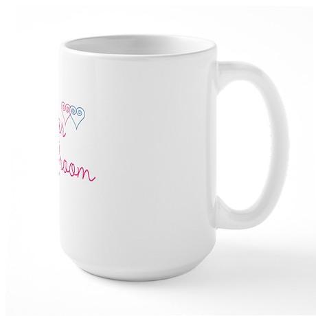 WedSet1SisterofGroom Large Mug