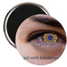 Kaleidoscope Eyes Magnet