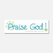 praise-god Car Magnet 10 x 3