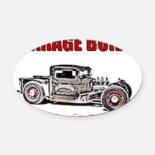 GarageBuilt Oval Car Magnet
