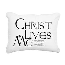 christ-lives Rectangular Canvas Pillow
