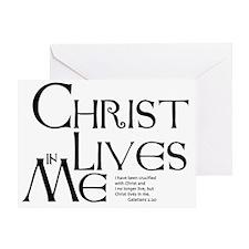christ-lives Greeting Card