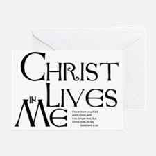 christ-lives Greeting Card