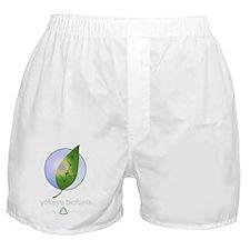 circlelogo white.gif Boxer Shorts