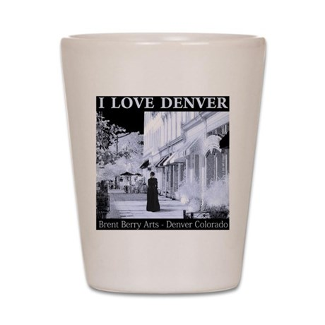 I Love Denver Shot Glass