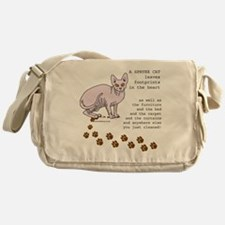 footprints-sphynx copy.gif Messenger Bag