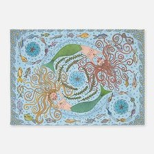Beneath the Waves 5'x7'Area Rug