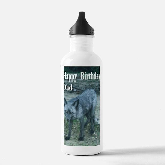 BDFoxCard5x7 Water Bottle