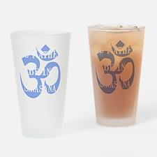 Rather Be Savasana White Drinking Glass