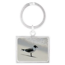 seagull Landscape Keychain