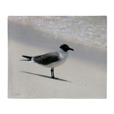 seagull Throw Blanket