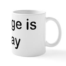 3000x900marriageissogay Mug